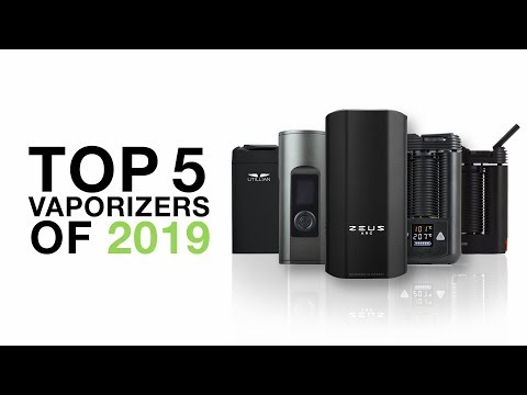 Top 5 Best Vaporizers of 2019 – TVAPE