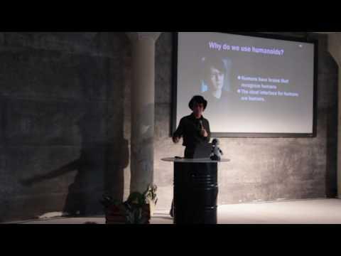 "Hiroshi Ishiguro : ""Interactive robots and our future life"""
