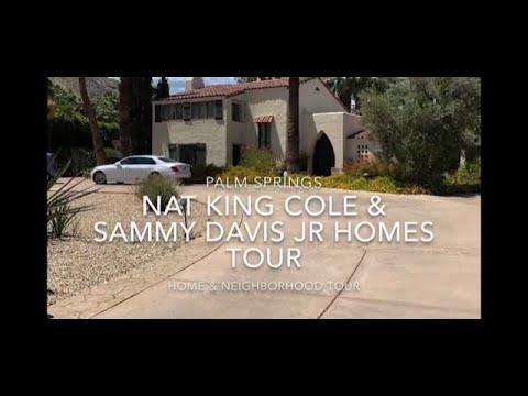 Download NAT KING COLE & SAMMY DAVIS JR CELEBRITY HOMES TOUR PALM SPRINGS