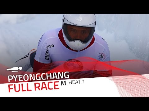 Pyeongchang | BMW IBSF World Cup 2016/2017 - Men's Skeleton Heat 1 | IBSF Official