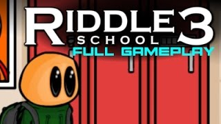 Riddle School 3 - Full Gameplay - No Commentary