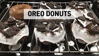 홈베이킹) ?오레오 도넛 만들기 Baked Oreo D…