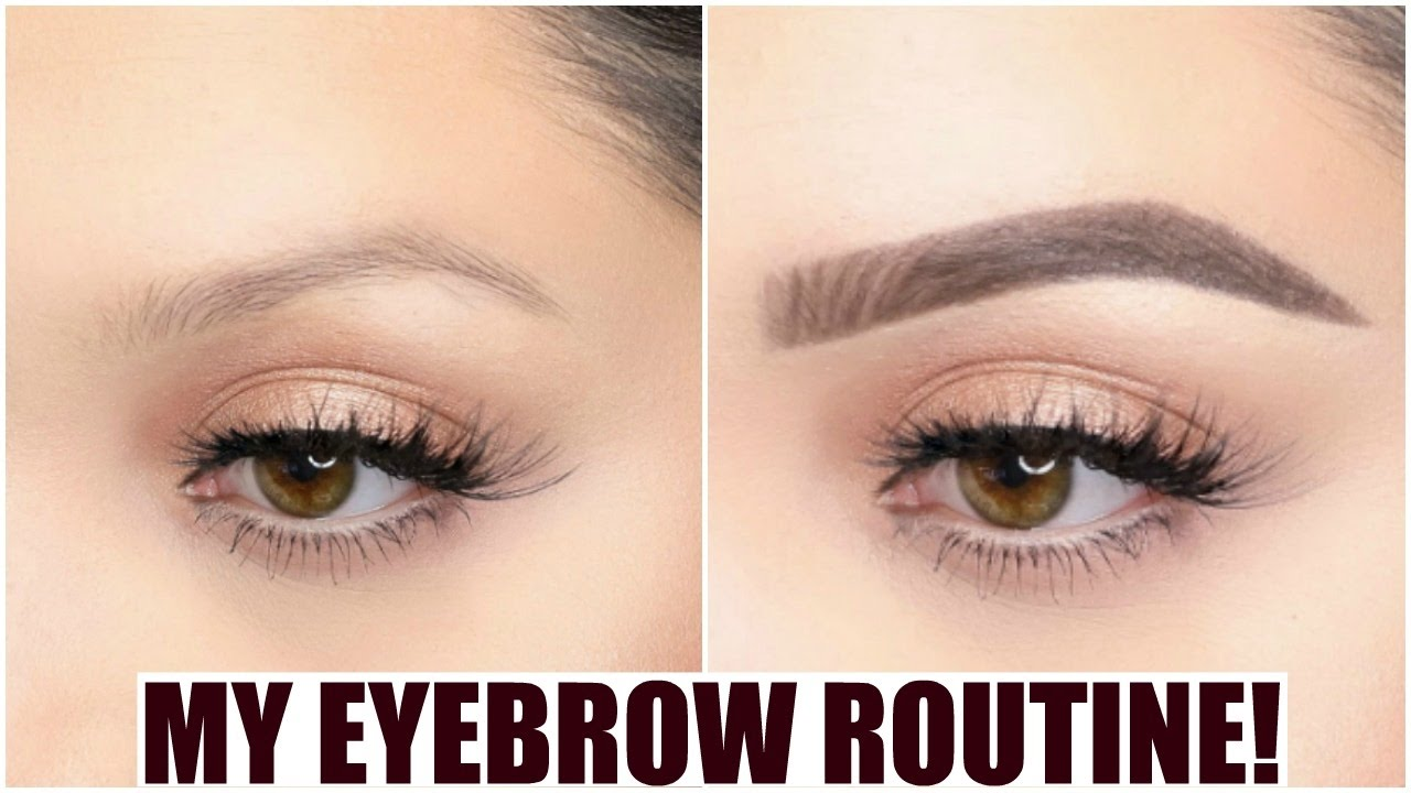 my-updated-brow-routine