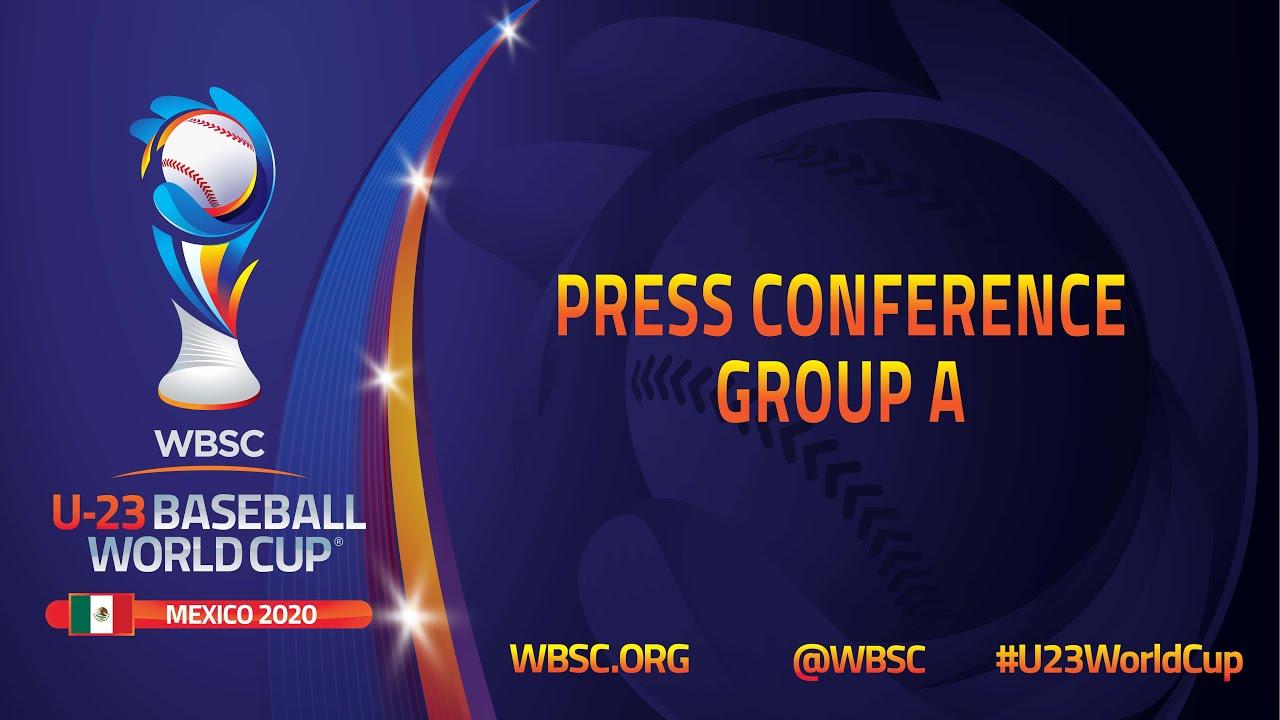 Press Conference Group A - III WBSC U-23 Baseball World Cup
