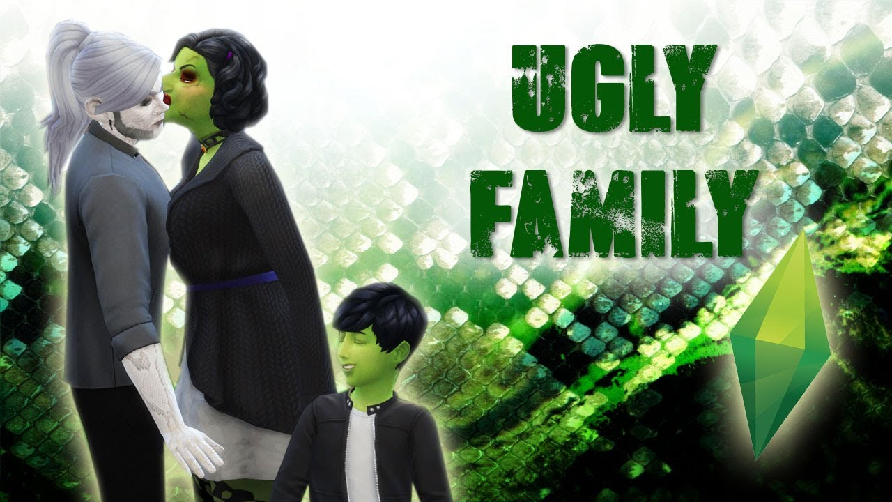 FAMILLE UGLY THE SIMS 4 Devovo