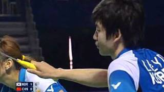 2009 China Open XD Final Lee Yong Dae/Lee Hyo Jung [Kor] vs Zheng Bo/Ma Jin [Chn]