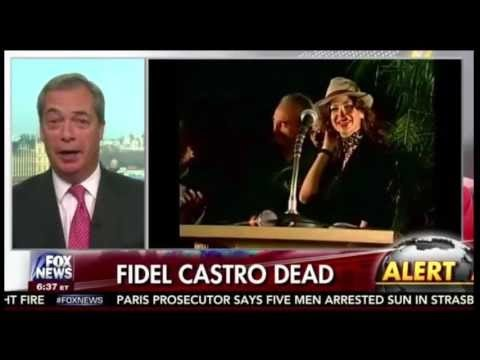 Nigel Farage Reacts To Fidel Castro's Death & Trump Transition On Fox & Friends