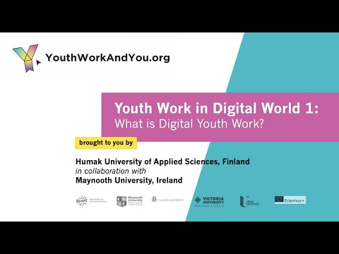 Youth Work in Digital World 1: What is Digital Youth Work?
