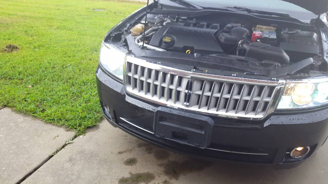 The headlights ground location on a lincoln mkz and zephyr on
