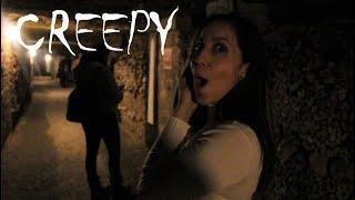 Creepy Paris Catacombs(Underground Cementary)- TRAVEL VLOG