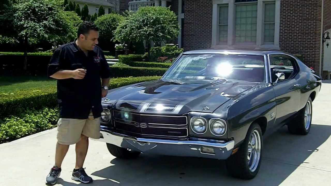 1970 chevy chevelle classic muscle car for sale in mi for Vanguard motors for sale