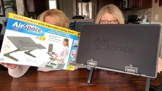 AirSpace Laptop Desk Review As Seen On TV