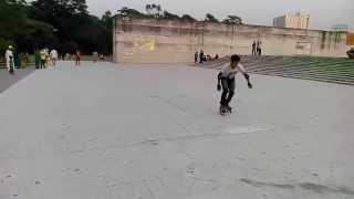 Skating at Suhrawardy Uddan Dhaka