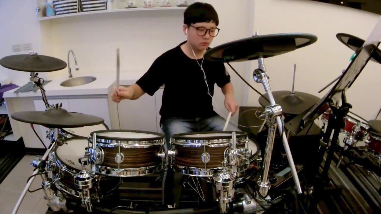 U-Drum 御將音樂打擊系統-臺中爵士鼓教學 - 王竣凱 聽媽媽的話 [drum cover] - YouTube