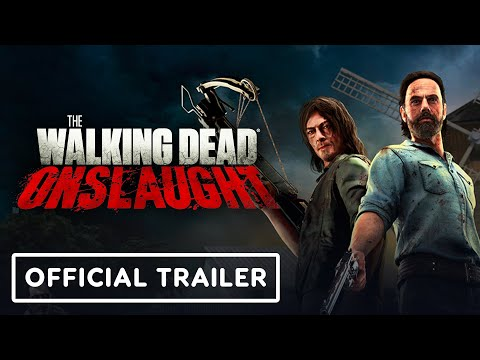 The Walking Dead Onslaught - Official Gameplay and Release Date Trailer