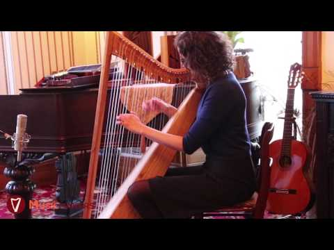 The Musicmakers Belle Harp