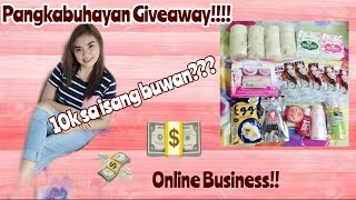 Paano mag start ng online business at Tips sa pag oonline + Pangkabuhayaan Giveaway!