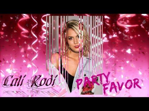 Cali Rodi - Party Favor (Lyric Video)