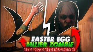 ME ENCUENTRO UNA MUJER ENCERRADA EASTER EGG EVIL D3AD RED DEAD REDEMPTION 2