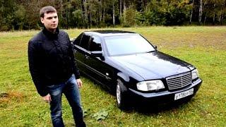Тест - Обзор Mercedes-Benz C-class w202 sport