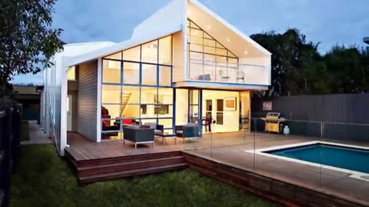 Cool hybrid of blurred house design by bild architecture in melbourne australia youtube - Cool home builders designs ...