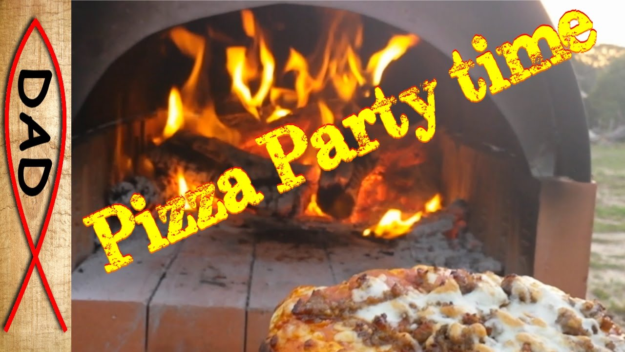 backyard brick pizza oven for under 50 youtube