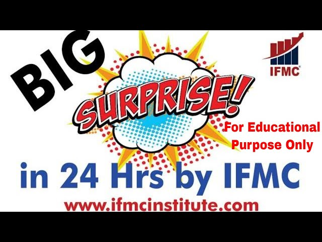 24 Hrs To Go For Big Surprise by IFMC ll Stay Tuned ll