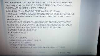 Group bantuan Trading forex Alfonso WA no 62 81317715453