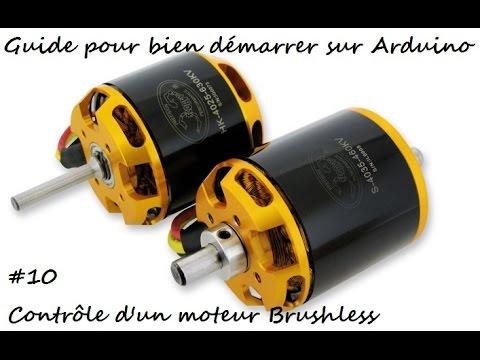 10 Guide Pour Bien Demarrer Sur Arduino Controler Un Moteur Brushless Be1806 Esc Emax