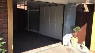 Секционные гаражные сдвижные ворота HST Hormann в Перми