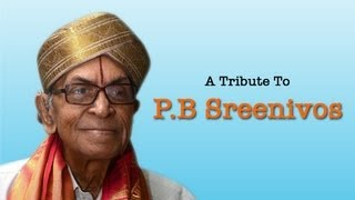 A tribute to PB Sreenivos (Vol 1) - Jukebox