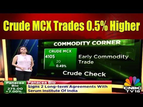 Crude MCX Trades 0.5% Higher   Commodities Corner   18th Jan   CNBC TV18