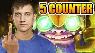 Arteezy Dota 2 ► 5 Heros Counter Me