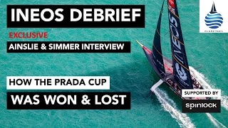 The INEOS America's Cup debrief - Exclusive interview with Sir Ben Ainslie & Grant Simmer