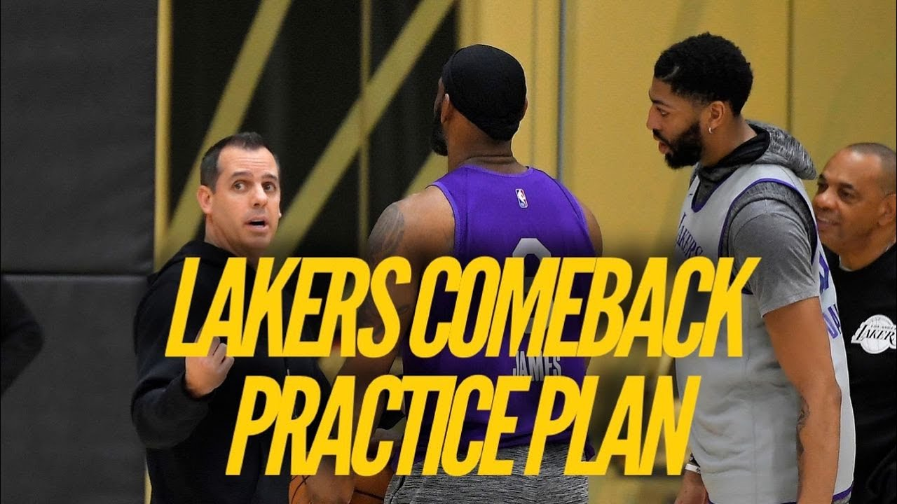 Lakers Comeback Practice Plan