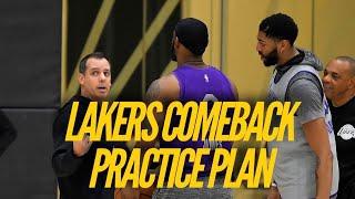 Lakers Comeback Practice Plan