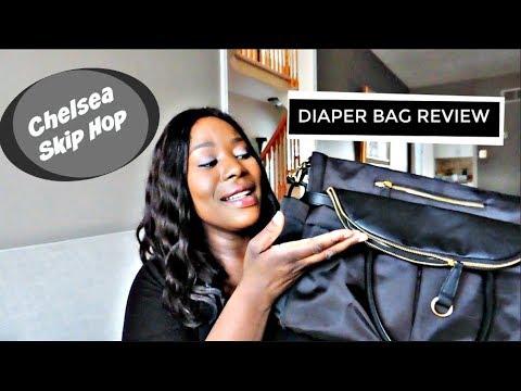 Diaper Bag Review | Chelsea Skip Hop | The Zebra Tribe