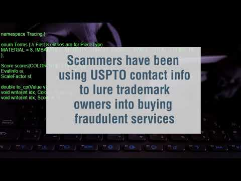 Scam Alert! Trademark Owners Targeted