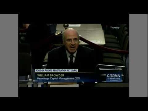 Bill Browder breaks down how a Kleptocracy works for Sen. John Cornyn