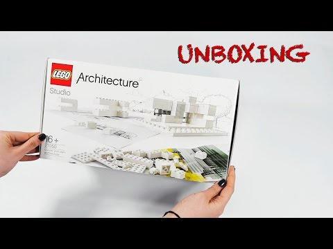 Lego Architecture Studio Set 21050 Unboxing