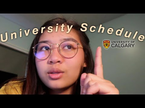 scheduling University classes: University of Calgary