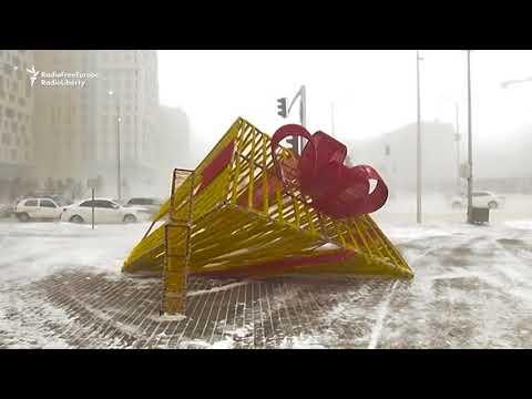 Blizzards Blanket Kazakhstan