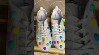 FAIL😫 DIY Pop-It Fidget Shoes #shorts