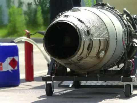 Rolls Royce Viper 203 Jet Engine (First Run)