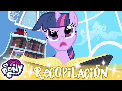 My Little Pony en español 🦄 1 hora RECOPILACIÓN   La Magia de la Amistad MLP