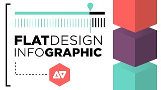 Illustrator Tutorial: Flat Design Infographic