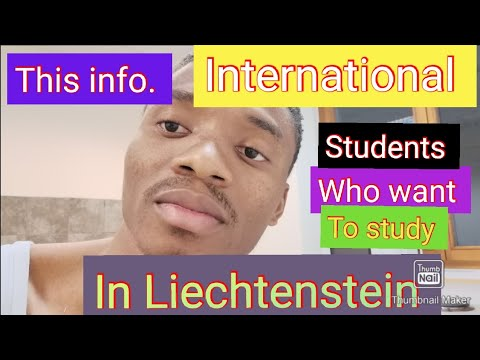 How to study in Liechtenstein for international |Post graduate course and undergraduate course |