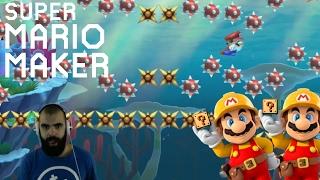 Mario Maker - Super Expert Highlights (Twitch Livestream 11/2/2016)