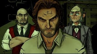 The Wolf Among Us Episode 2 Walkthrough - Part 1 - The Interrogation - No commentary HD