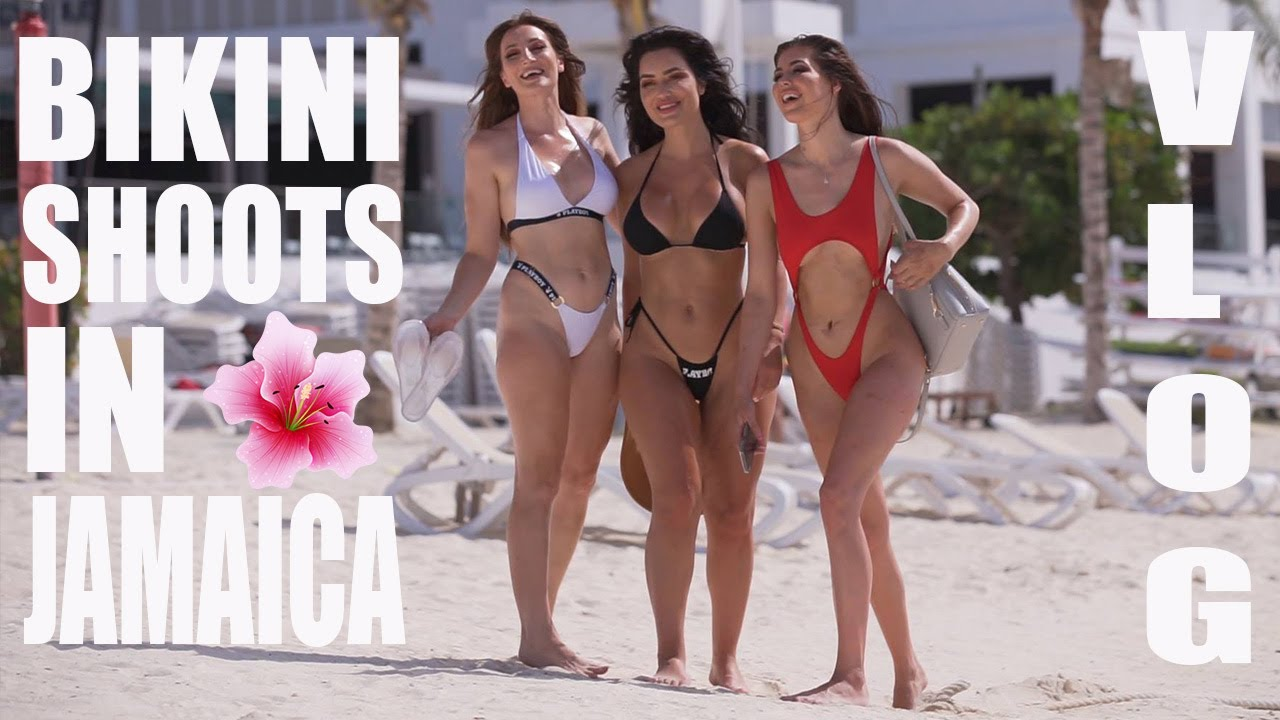 Bikini Model Shoot IN JAMAICA! My first VLOG in over a YEAR! I HOLLY WOLF